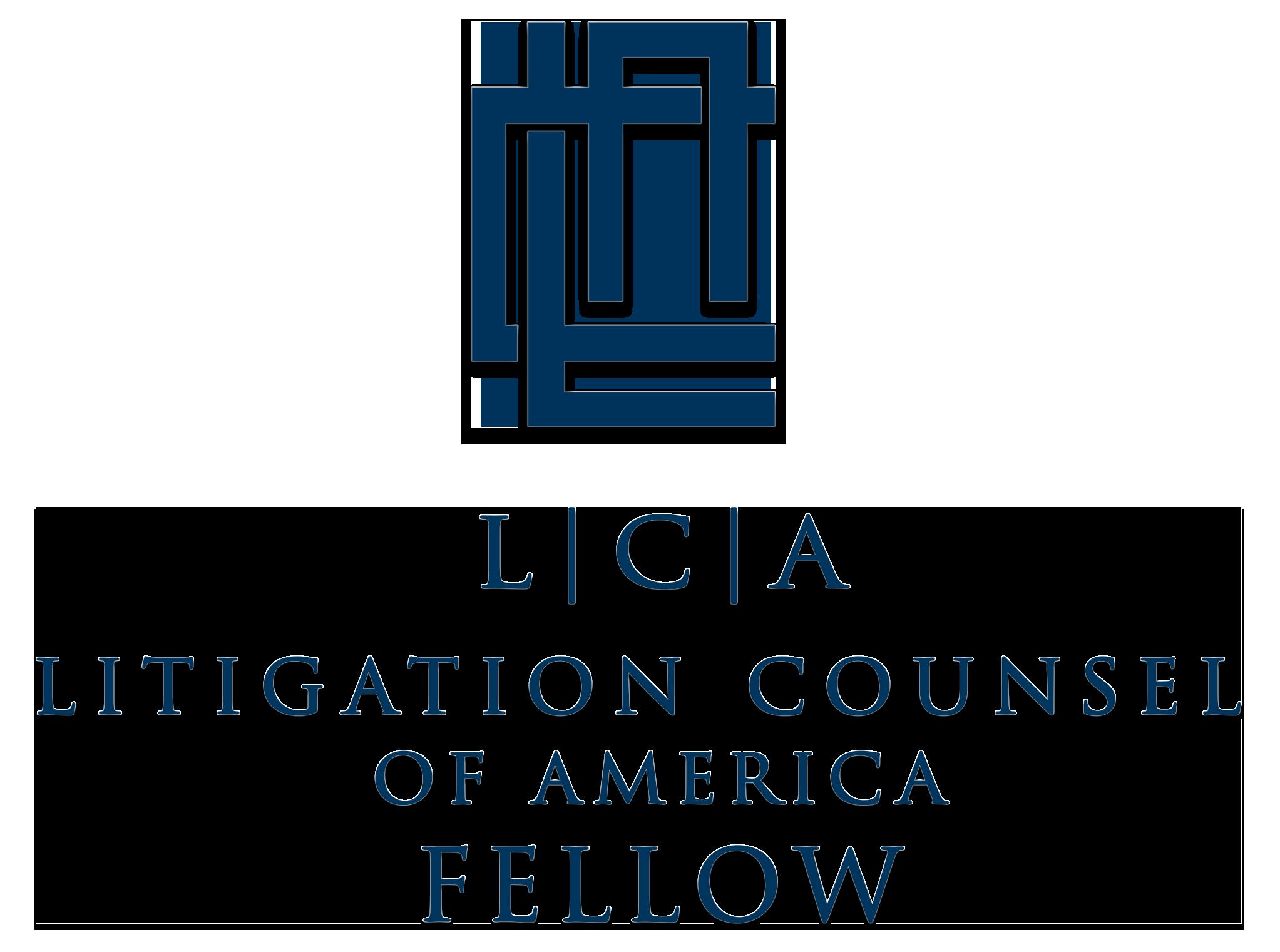 Litigation Counsel of America Fellowship Logo
